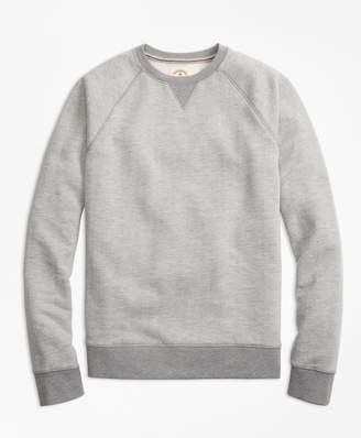 Brooks Brothers Herringbone Jacquard Sweatshirt