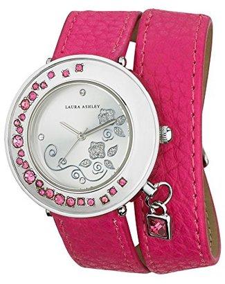 Laura Ashley Women's LA31008PK Analog Display Japanese Quartz Pink Watch $51.98 thestylecure.com