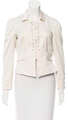 Valentino Fitted Silk Jacket w/ Tags