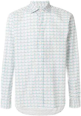 Etro printed relaxed fit shirt