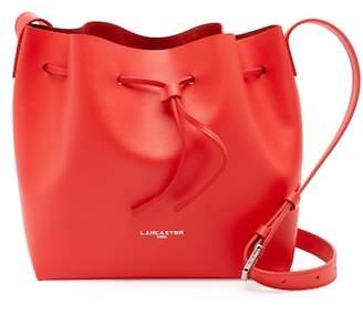 Lancaster Paris Pur Saffiano Leather Bucket Bag