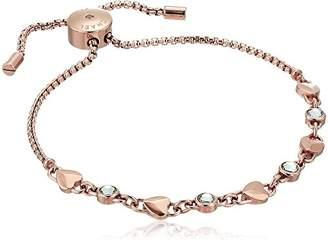 Michael Kors Logo Logo Love Tone Slider Bracelet