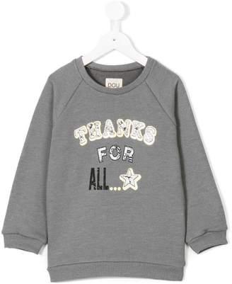 Douuod Kids front print sweatshirt