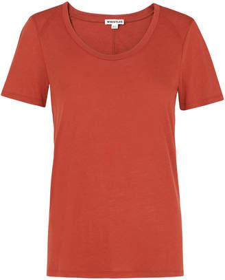 Whistles Maye Seam Back T-shirt