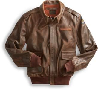 Ralph Lauren Leather Flight Jacket