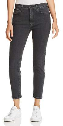 Hudson Krista Ankle Skinny Jeans in Washed Black - 100% Exclusive