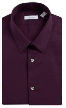 Calvin Klein Slim Fit Cotton Dress Shirt
