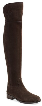 Women's Tory Burch 'Simone' Over The Knee Boot $575 thestylecure.com