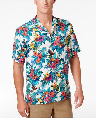 Tommy Bahama Men's Jungle Flora Silk Shirt $118 thestylecure.com