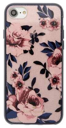 Kate Spade glitter prairie rose iPhone 7/8 & 7/8 Plus case