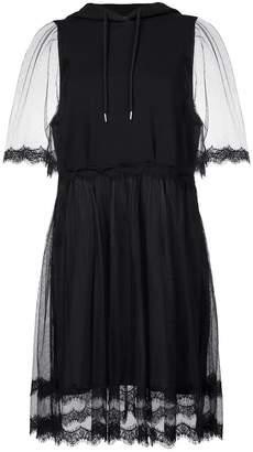 McQ lace hoodie dress