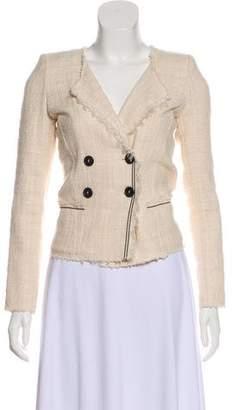 Etoile Isabel Marant Fringe-Trimmed Tweed Blazer