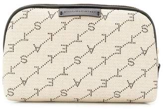 Stella McCartney monogram print make-up bag