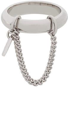 A.P.C. chain detail ring