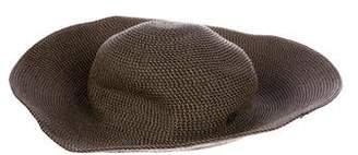 Eric Javits Woven Raffia Hat