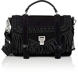 Proenza Schouler Women's PS1+ Medium Suede Shoulder Bag