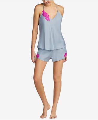 Betsey Johnson Embroidered Camisole Pajama Set