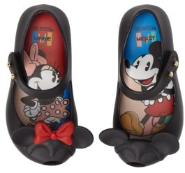 Toddler Girl's Mini Melissa Disney Twins Ii Mary Jane $64.95 thestylecure.com