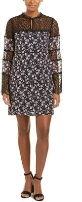 Nanette Lepore Flora Silk Shift Dress