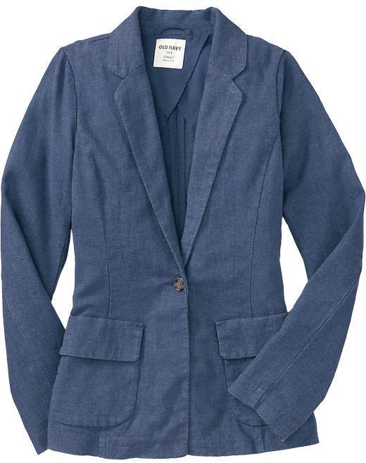 Women's Linen-Blend Blazers