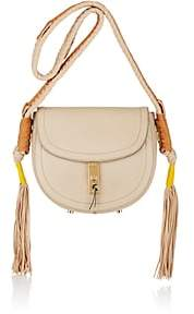 Altuzarra WOMEN'S GHIANDA BULLROPE SMALL SADDLE BAG-TAN, COGNAC