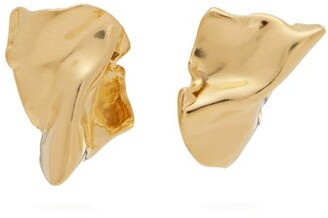 Misho - Flow Plated Sterling Silver Earrings - Womens - Gold