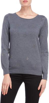 Vila Milano Studded Star Sweater