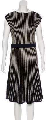 Marc by Marc Jacobs Metallic Midi Dress