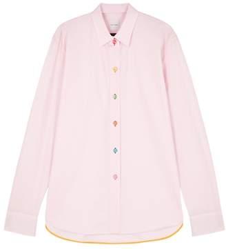 Paul Smith Light Pink Cotton Shirt