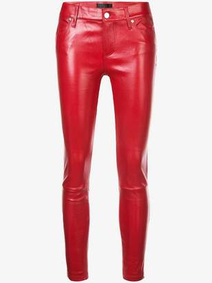 RtA Prince crop skinny trousers