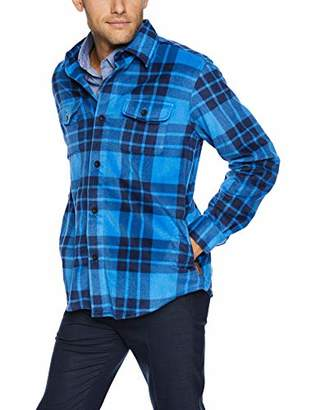 Chaps Men's Classic Fit Microfleece Shirt Jacket