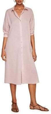 MANGO Lucia Cotton Shirtdress