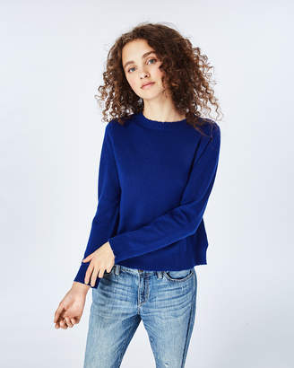 Nicole Miller Slit Pullover Sweater