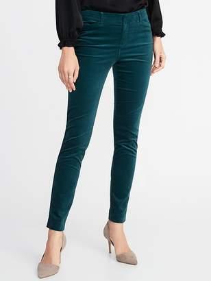 Old Navy Mid-Rise Pixie Full-Length Velvet Pants for Women