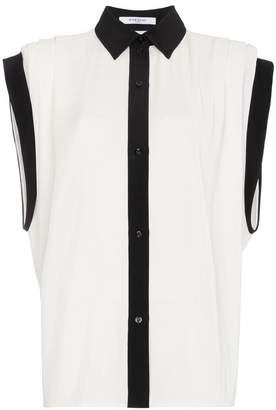 Givenchy batwing short sleeve shirt