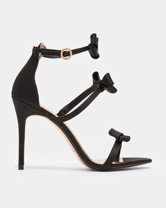 Ted Baker NUSCALA Bow strap stiletto sandals