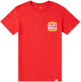 Bedwin&the Heartbreakers Bedwin & The Heartbreakers Burger Heartbreak Tee