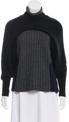 5a8d1ba886 Spencer Vladimir Cashmere Colorblock Chunky Knit Sweater