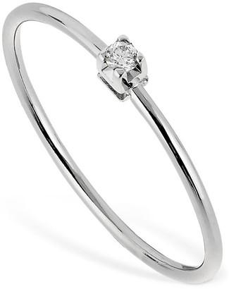 Vanzi 18kt White Gold & Diamond Ring