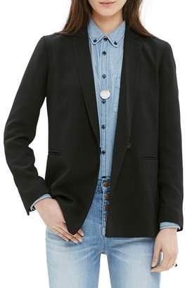 Madewell 'Lycee' Drapey Blazer
