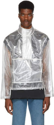 Helmut Lang Transparent Pocket Popover Jacket