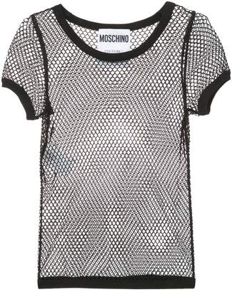 Moschino mesh top