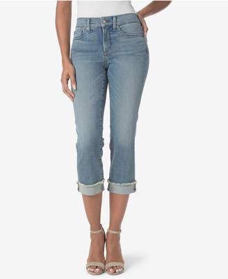 NYDJ Marilyn Tummy-Control Crop Jean with Cuff