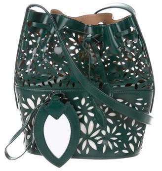 Alaia Laser Cut Bucket Bag