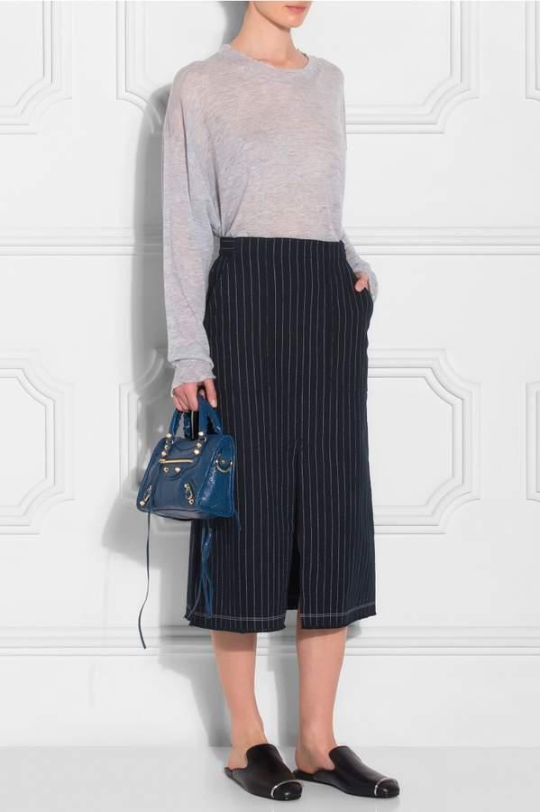 Alexander Wang Burlap Midi Skirt