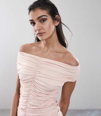Reiss Fabiana Rouched Front Top