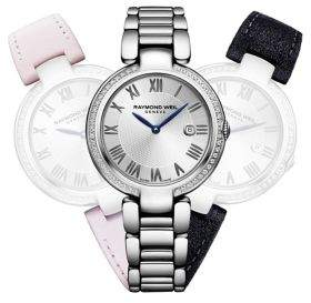 Raymond Weil Shine Repetto Stainless Steel Bracelet Watch