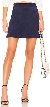 Capulet Camden Suede Mini Skirt