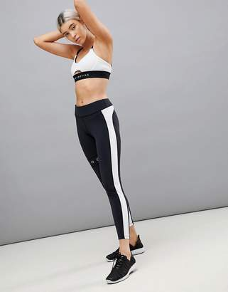 Bershka Color Block Gym Leggings