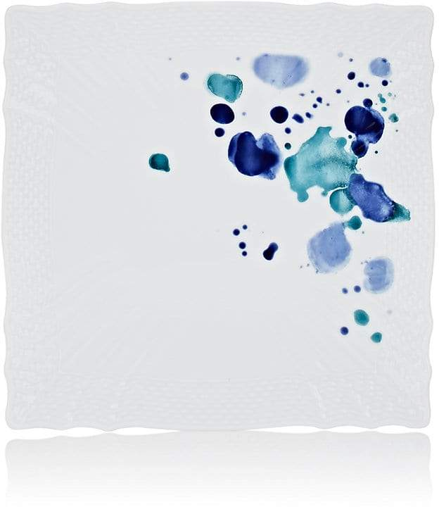 Splatter-Painted Square Plate